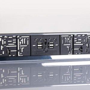 Ram za tablice asb lux - hrom
