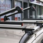 Aluminijumski držač nosač za 6 para skija /2 daske snowboard Menabo