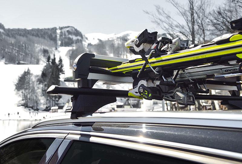 Aluminijumski nosač za skije i snowboard Menabo