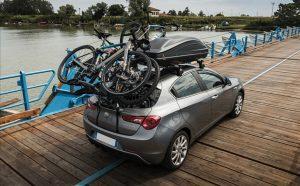 Auto nosač bicikla na zadnja vrata vozila Delux