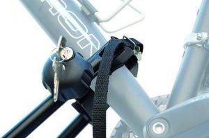 Krovni auto nosač za bicikl, čelični sa zaključavanjem