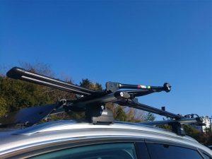Auto nosač bicikla za krov - Thule Freeride Black