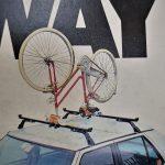 Auto nosač bicikla za krov - Upside (bicikl se posatvlja naopako)