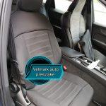 Auto presvlake univerzalne za prednja sedišta – CRNE – visok kvalitet