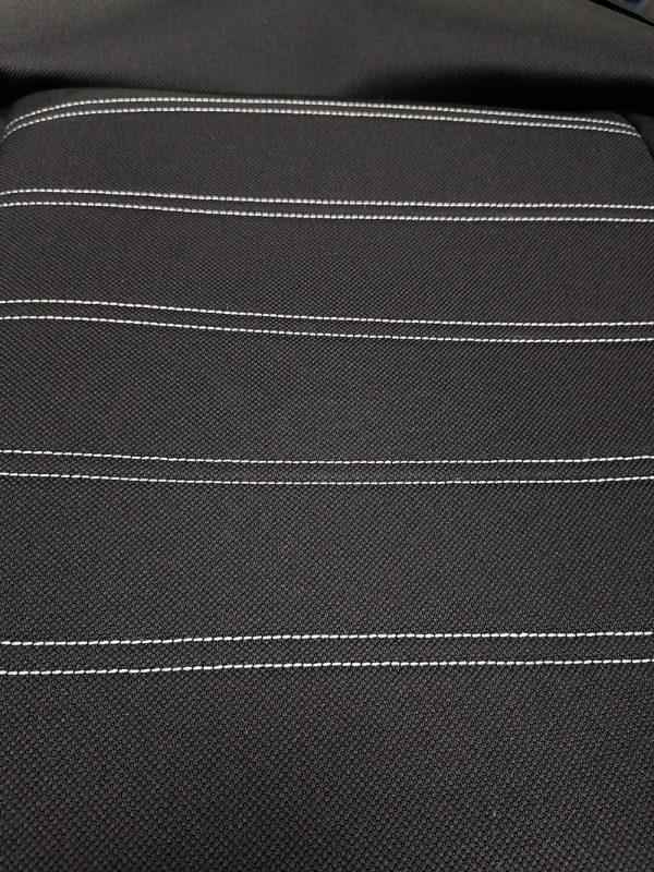 Auto presvlake univerzalne za zadnja sedišta - CRNE - visok kvalitet