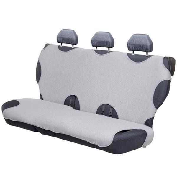 Presvlake pamučne majce za zadnja sedišta - SIVE